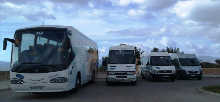Coach and mini-bus rentals in Palma de Mallorca.