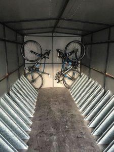 Remolque bicicletas para cicloturismo y ciclismo profesional