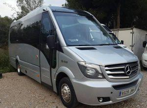 Minibus de lujo Mercedes Sprinter 19 plazas + guía