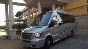 Mercedes Sprinter 19 plazas + guía - Rafatransfers